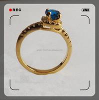 2015 hot sale 1 gram gold ring