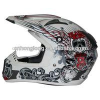motocross open face helmets(ECE&DOT Approved)