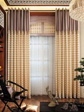 American style design curtain