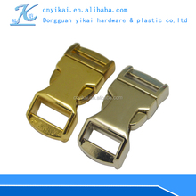 """YIKAI custom side release buckle 1/2"""" logo side release buckle"""