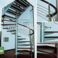 espiral de madera para escaleras de cubierta
