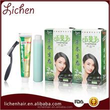 Guangzhou Lichen No Ammonia Natural Essence Fagrant Professional Hair Color