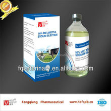 analgin/metamizole sodium injection 30% veterinary product
