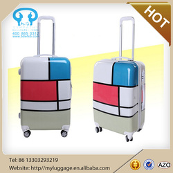 CHEAP ABS+PC Airport luggage Sets,Laptop trolley case