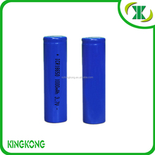 Samsung manufacturer high discharge rechargeable e cig 18650 battery 1000mah 3.7v China supplier