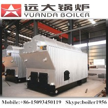 Industrial wood coal burning stove furnace for steam
