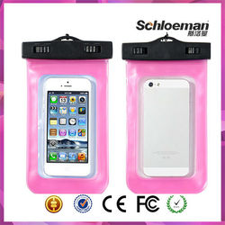 Durable transparent cell phone sling bag