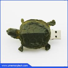 The tortoise shape pen drives personalized wholesale cute pen drive usb pendrive