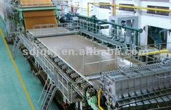Hig Speed New Condition 3200 mm 70-80 T/D Kraft Paper Machine