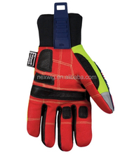 High quality leather TPR Impact Protection Oil and Gas Field Work Safety Gloves