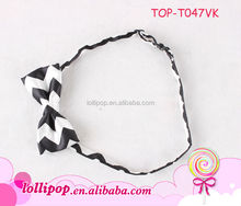 New arrival black with white for formal baby mini ribbon bow ties