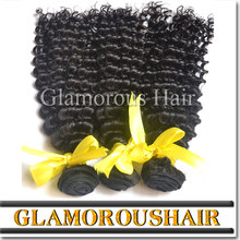 Hot sale remy human hair deep curly virgin hair, full cuticle with thick ends cambodian virgin hair