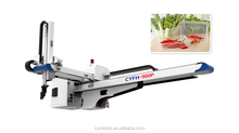 Guangdong manufacturer telescopic robot arm take out 3 axis disposable rectangle 800ml food container