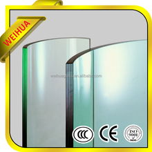 Curve building tempered glass with CE/ISO/CCC/SGS
