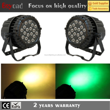 10 watts 18pcs led rgbw led stage light waterproof packing par light