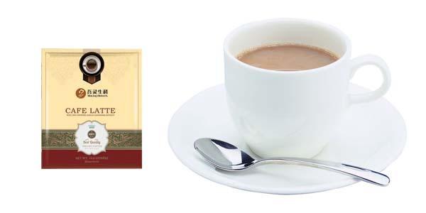 Ganoderma alimentos saudáveis café latte