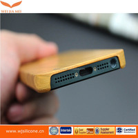smartphone Real Wood cover for iphone 6 PC+Wood case