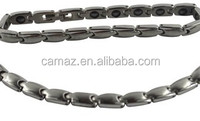 Hearth care Bio magnetic titanium 4 in 1 bracelet with negative ions