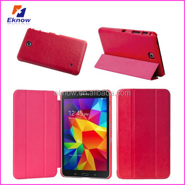 High Quality PU Leather Cell Phone Case For Samsung Galaxy Tab4 7.0