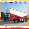 V shape tri-axle dry cement bulk trailer 28T,30T,50T,60T hot sale