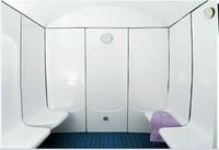 Make in china hidden cam massage room cold steam sauna room 8 persons steam sauna room in Isran