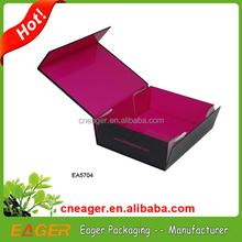 Custom magnet folding paper box, gift paper box packaging
