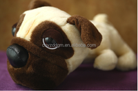 big eyes dog plush animal toy/England bulldog plush stuffed dog/plush animal big eyes