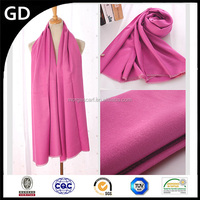 GDK0126 2015 New design women winter plain dyed scattered cashmere scarf pashmina