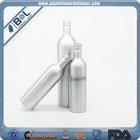 Olive Oil Aluminum Bottle Small Bottles For Olive Oil