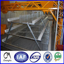 Cheng Ao Brand 96 birds 120 birds chcken cage battery cage laying hens cage for sale