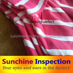 Baby clothing quality check/pre-shipment inspection/business verification
