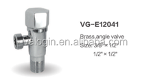 Forged Technics and Equal Shape casting valve, Water Media Brass angle valve ,