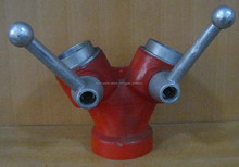 De aluminio de agua contra incendios divisor