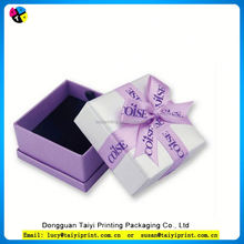 Customized printed Stamping new design jewelry box party favors
