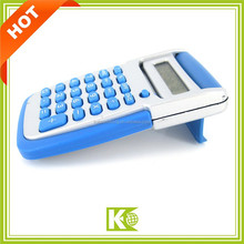 Novelty shaped flip cover electronic calculators