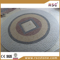 Ganite Round shape small square paving stone