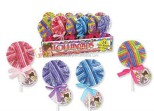 fashion lollipop hair elastic band lollibands tie