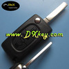 Hot selling 3 button car remote control cover with trunk button for peugeot 307 key peugeot keys
