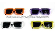 Retro 80's Block Party Sunglasses