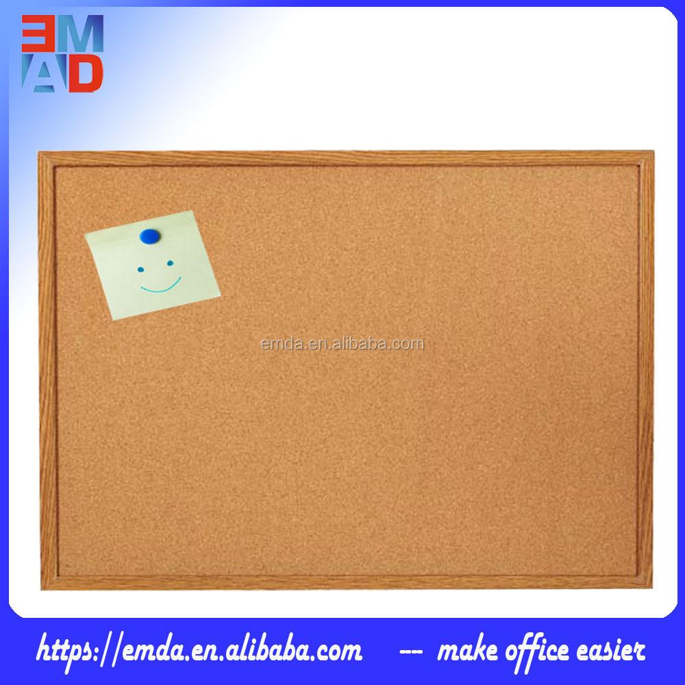 Стандартный размер 30x40 см МДФ рамка бюллетень пробковая доска