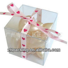 plastic PET /PVC good quality gift box