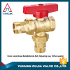 cheap angle seat valves brass Hpb57-3 professional Angle valve made in China