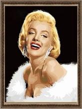 40*50cm famous woman figure oil painting, canvas painting