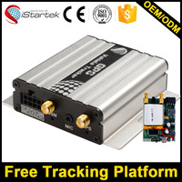 Long standby gps tracking device with inbuilt battery anti jammer free tracking sever