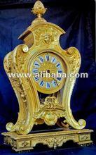 XXL ORIGINAL ANTIQUE GILD BRONZE CLOCK S.Marti Louis-XVI c.1860