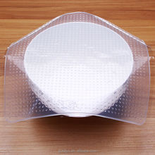 OEM eco-friendly cheap silicone food grade plastic wrap