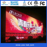 7.8mm led display screen outdoor/ indoor stand video