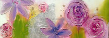Simple Abstract flower oil painting Made in Yiwu china