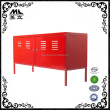 Top Rated 2 tier double door steel ikea ps file cabinet with stand foot