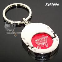 Shopping Cart Chip Keychain